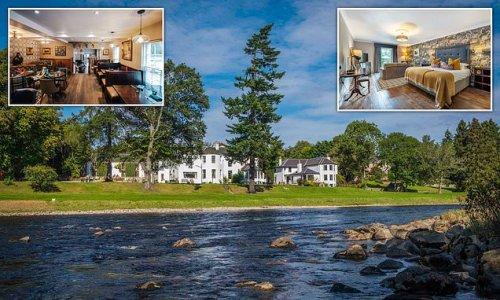 Inside the lodge that's in one of the UK's loveliest riverside spots