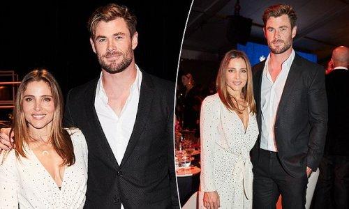 Claims Chris Hemsworth failed to bid during charity auction 'false'