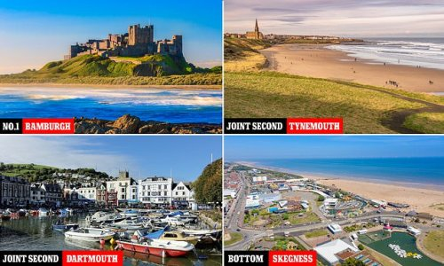 Britain's favourite seaside spots ranked - and Bamburgh is No1