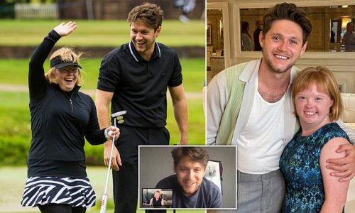 Niall Horan makes dream come true as he meets inspirational golfer