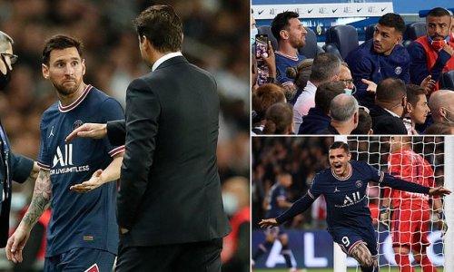 PSG 2-1 Lyon: Messi subbed before Mbappe sets up Icardi winner