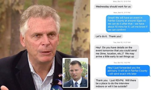Terry McAuliffe DENIES claim he stormed out of interview early