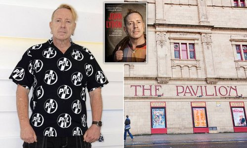 Venue axes Johnny Rotten book tour after staff complain about manager