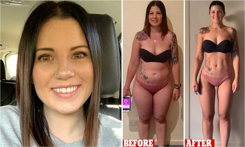 Bank worker reveals how she slimmed down to her dream 'beach body'