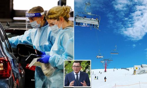 Rapid Covid tests SHUNNED by Dan Andrews has condemned snowfields