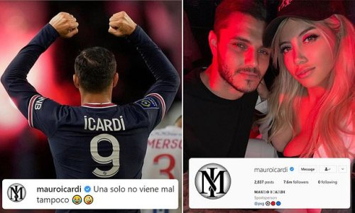 Icardi unfollows Wanda Nara and claims it's 'not so bad going solo'