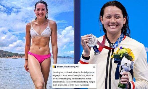 Hong Kong newspaper slammed for calling swimmer a mixed-race mermaid