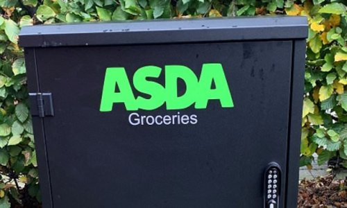 Asda tries out new unattended food deliveries