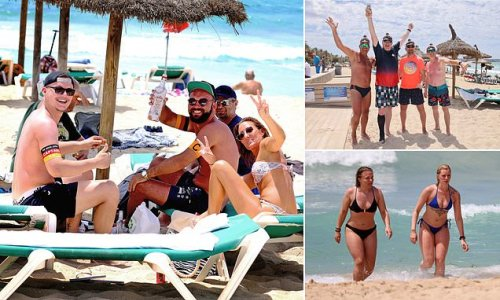 German tourists pack out Majorca resorts usually over-run with Brits