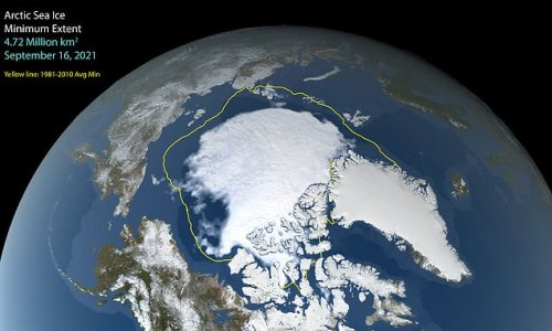 Arctic summer sea ice is at its twelfth lowest extent on record