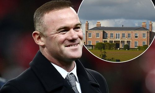 Wayne Rooney 'is creating a whiskey and cigar room at his £20m home'