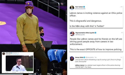 LeBron calls for cop who killed Ma'Khia Bryant to be held accountable