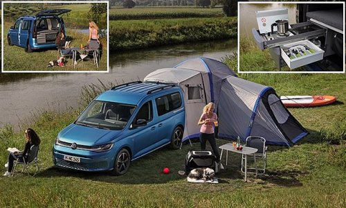 VW's smallest camper comes to the UK: Caddy California costs £29,965
