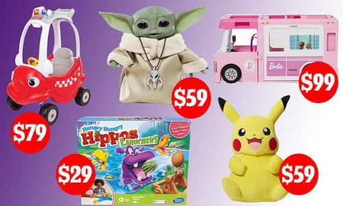 Big W is offering 50 percent off toys from Lego, Barbie and Hot Wheels