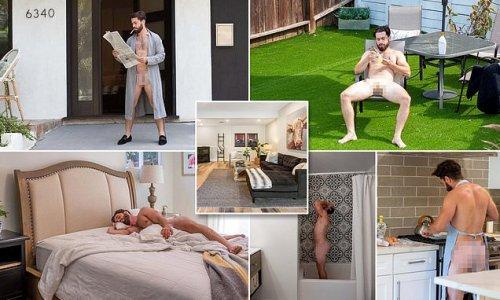 'Ballsy' Los Angeles realtor goes full-frontal inside $1.29m home