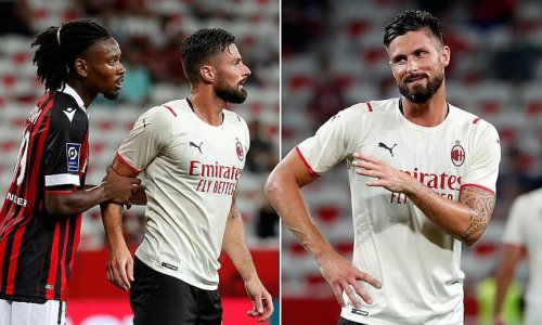 Giroud scores just four minutes into AC Milan debut with first touch