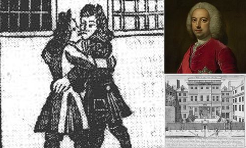 Blackmailers in 18th c. London threatened to accuse men of being GAY