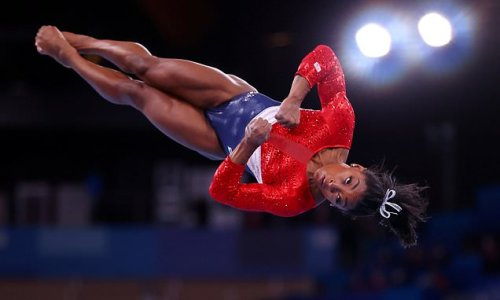 Simone Biles WITHDRAWS from uneven bars and vault