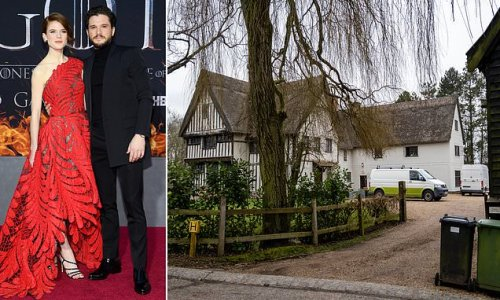 Kit Harington and Rose Leslie win battle to save moat at their home
