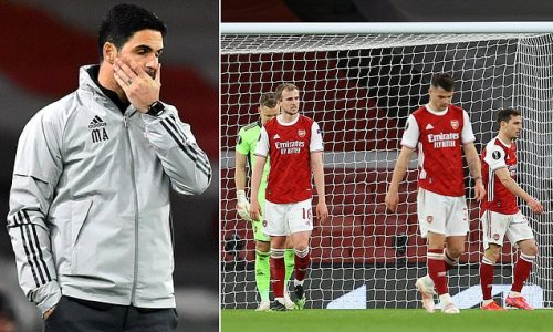 Arteta 'facing revolt at Arsenal after blaming players for club woes'