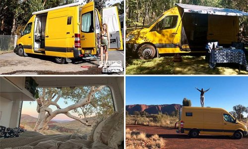 Why hundreds of Aussies are hiring this little yellow 'dream' van