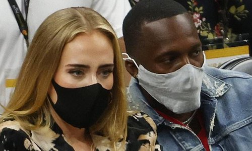 Adele CONFIRMS romance with Rich Paul and is spotted packing on PDA