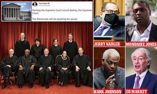 Democrats 'to pack the Supreme Court with four new justices'