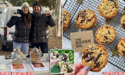 Daughter saves dad's business with ready-to-bake cookie dough