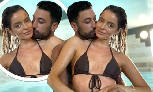 Maura Higgins and Giovanni Pernice look every inch the loved-up pair
