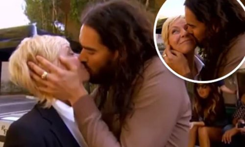 Liz Hayes looks back on the time Russell Brand kissed her on the lips