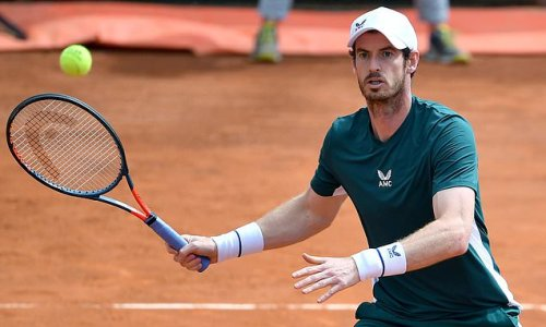 Andy Murray is back at Queens as he prepares for Wimbledon return