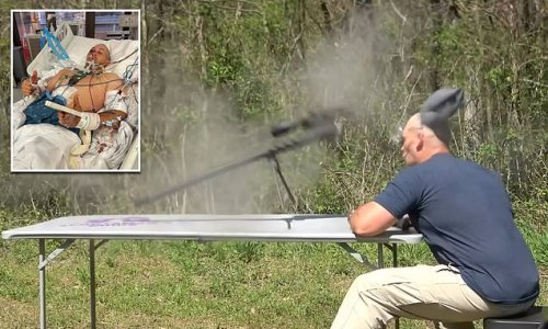 Kentucky YouTuber nearly dies when .50-cal gun blows up in his face