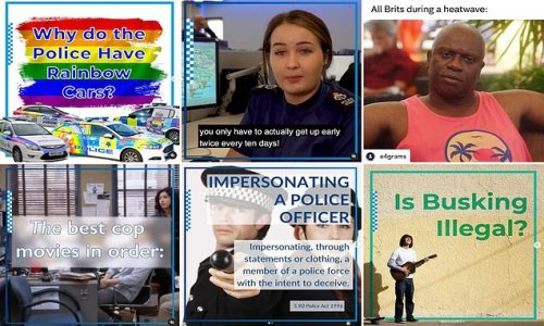 Police spend £350,000 a year on Instagram account targeting teenagers