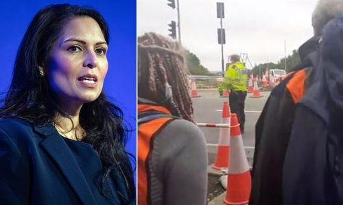 Priti Patel orders 'decisive action' from police over M25 protests