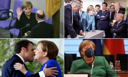 As Angela Merkel steps down as Chancellor, a look at her big moments