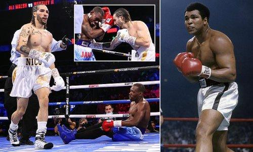Muhammad Ali's grandson, Nico Ali Walsh, wins second pro fight