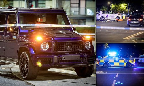 Woman, 38, dies after being hit by £200,000 Mercedes G-Wagon