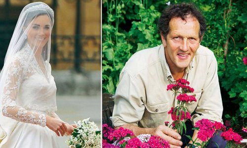 The bride's bouquet was small but hugely meaningful, says Monty Don