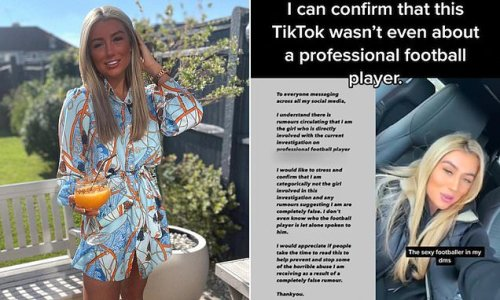 Woman WRONGLY named as underage girl allegedly sexted by footballer