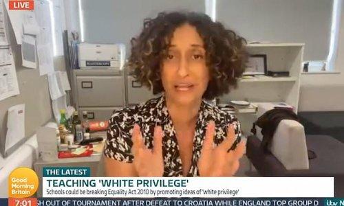 'Tiger Headmistress': 'White privilege undermines black children'