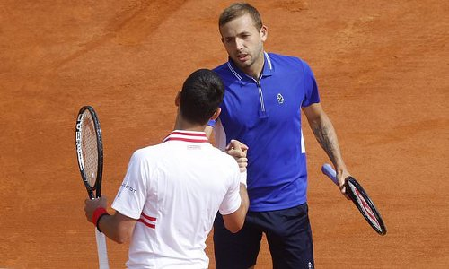 Evans STUNS World No 1 Djokovic at the Monte-Carlo Masters