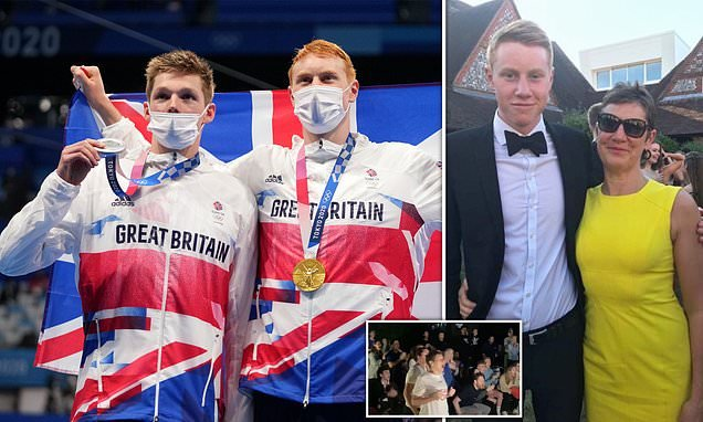 Dean and Scott win Olympic gold and silver medals