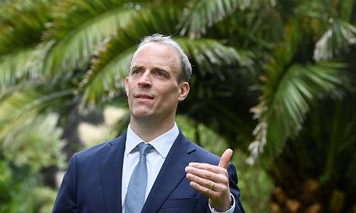 Dominic Raab says UK does not believe Covid-19 escaped from lab
