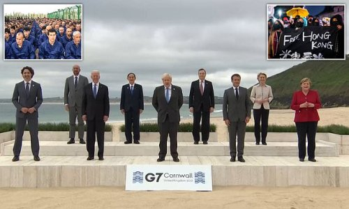 China accuses G7 of 'slander' after world leaders blast Beijing