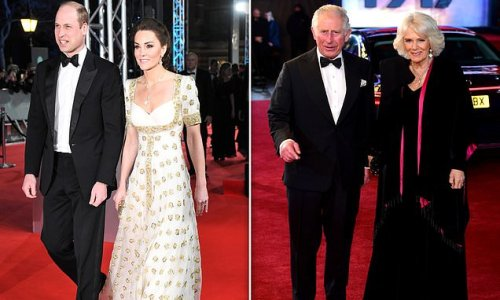 Prince William and Kate to join Charles and Camilla at Bond premiere
