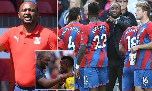 Vieira is making strides at Selhurst Park with double sessions