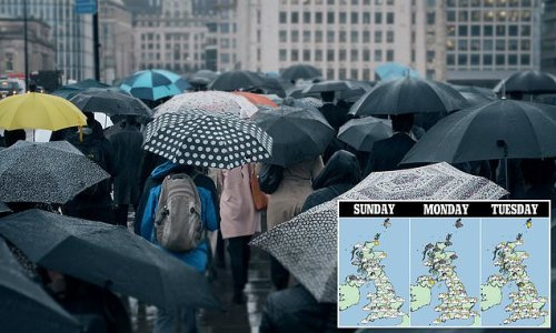 Forecasters warn September sun will be replaced with STORMS