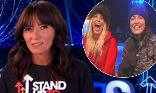 Davina McCall pays tribute to Sarah Harding during Stand Up To Cancer