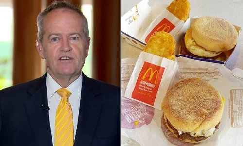 Bill Shorten weighs in on McDonald's axing of all-day breakfast menu
