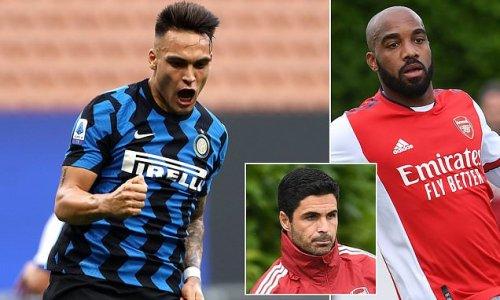 Arsenal 'express interest in signing Inter Milan striker Martinez''
